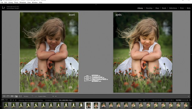 lightroom cours