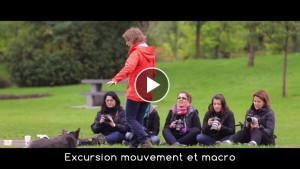 video excursion mouvement et macro