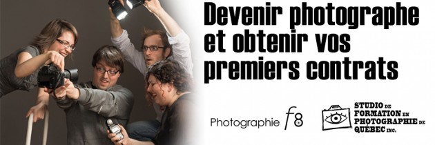 Devenir photographe avec le studio FPQ