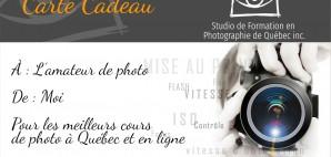 Carte-Cadeau photo
